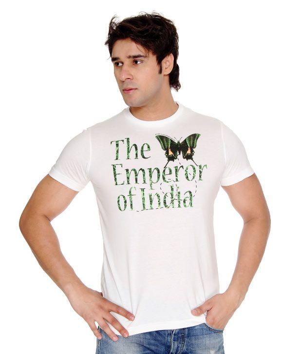 USI White Emperor T-Shirt