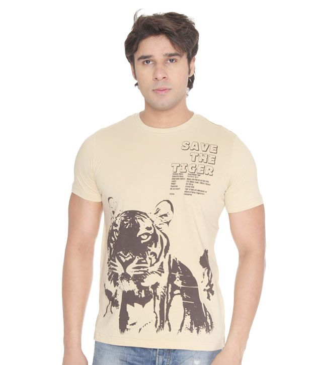 USI Classic Beige T-Shirt