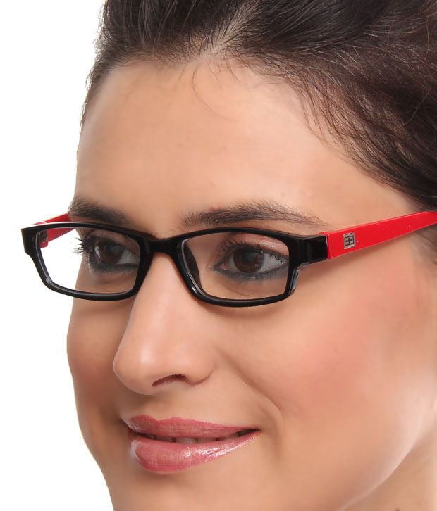 Teenager Smart Black & Red Optical Frame