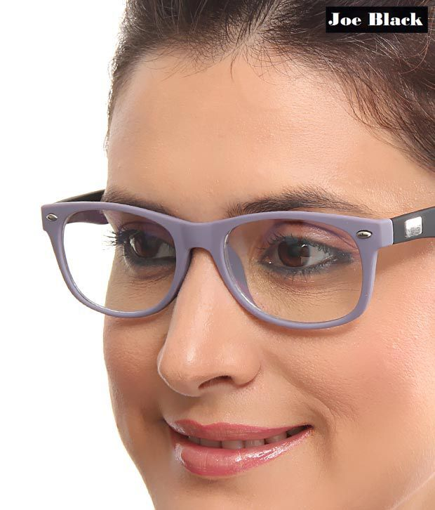 Joe Black Stylish Purple Black Optical Frame