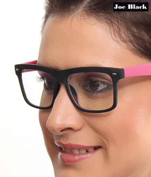 Joe Black Stylish Pink Black Optical Frame