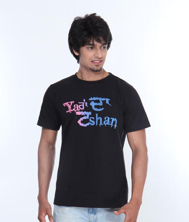 Casual Tees Tashan Black T Shirt