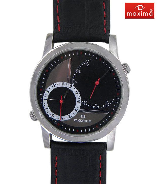 Maxima Edgy Duals Watch