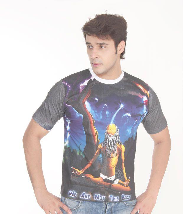 Rhythmic Designs Spiritual Yogi T-Shirt