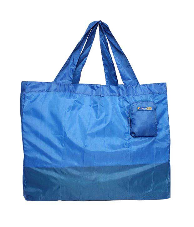Travel Blue Foldable Blue Mini Bag