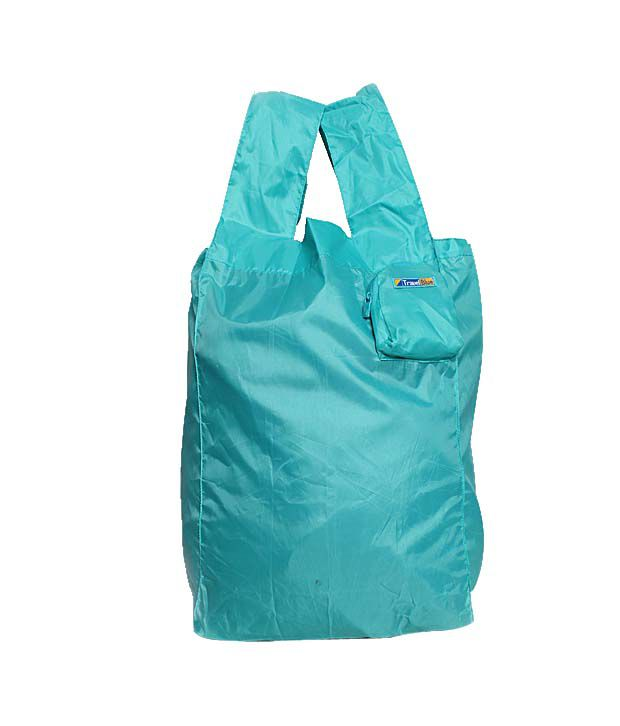 Travel Blue Sea Blue Foldable Micro Bag