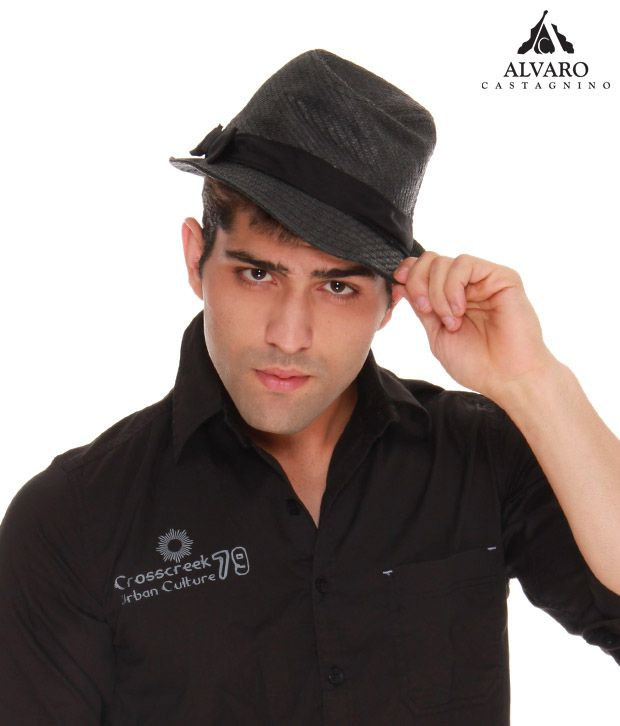 Alvaro Classic Grey Retro Style Hat