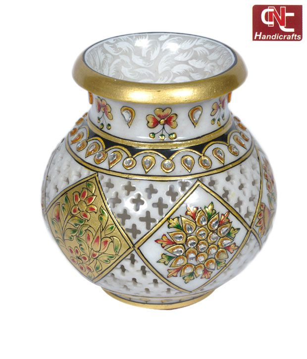 Craft N Craft Jali Work Matki Pot