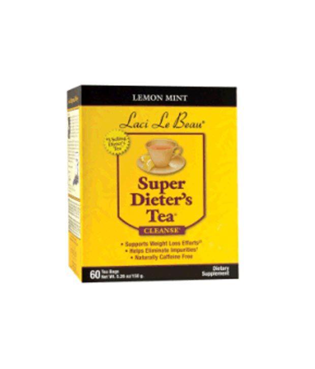 Laci Le Beau Lemon Mint Super Dieter's Tea - 60 Tea Bags