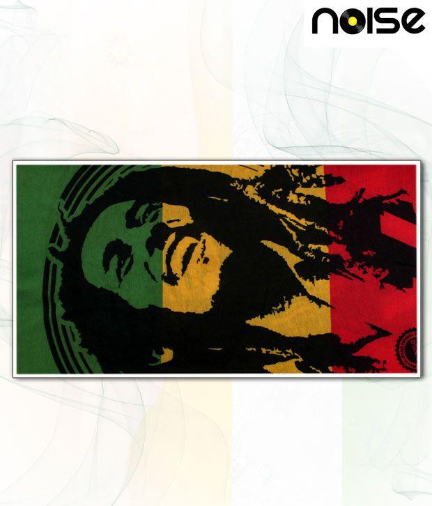 Noise Multi-Coloured Bob Marley Head Wrap