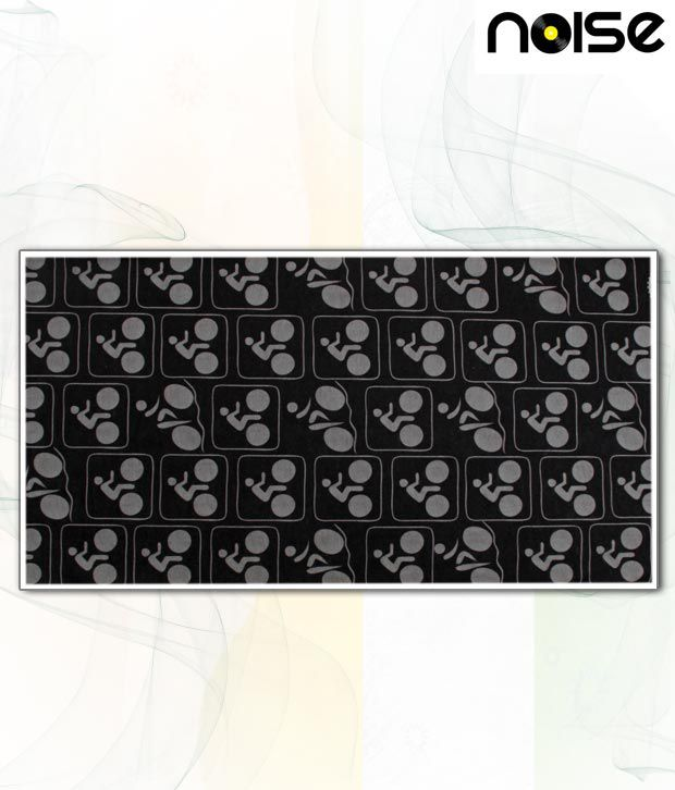 Noise Appealing Black & Grey Head Wrap