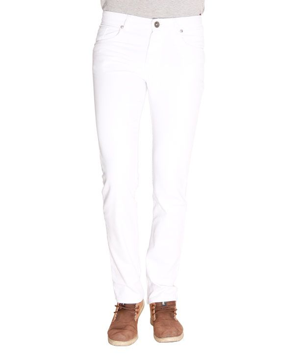 Opinion Classic White Jeans