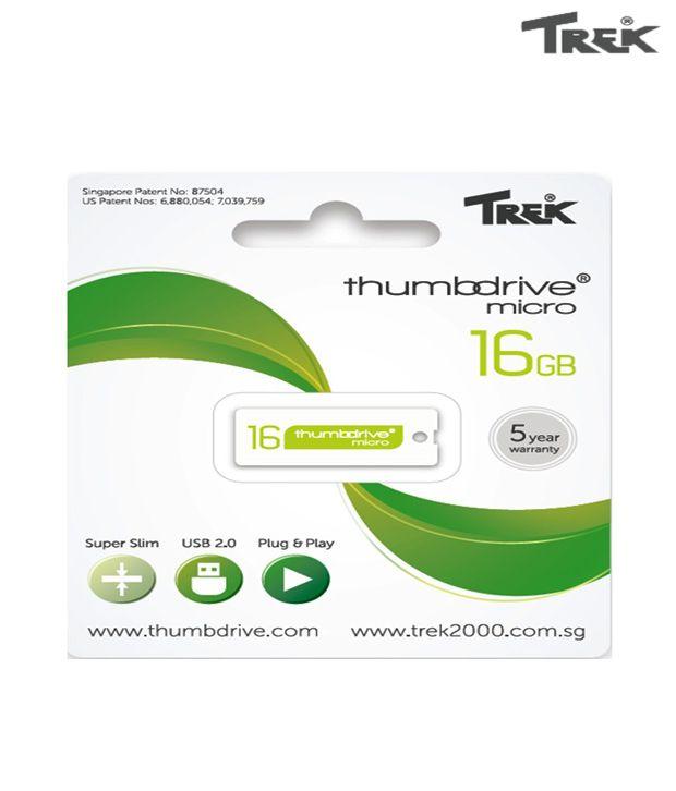 Trek Thumb Drive 16GB Pen Drive