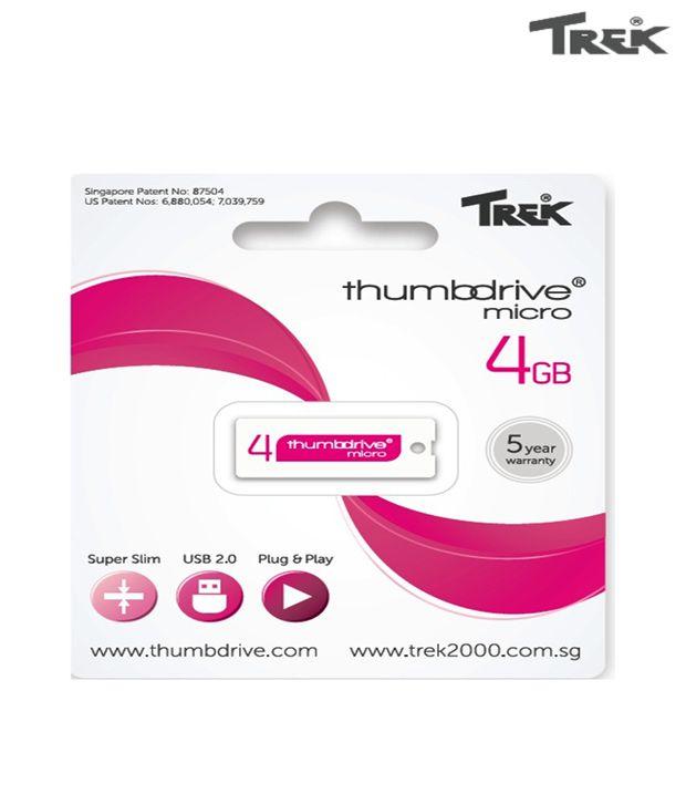 Trek Thumb Drive 4GB Pen Drive