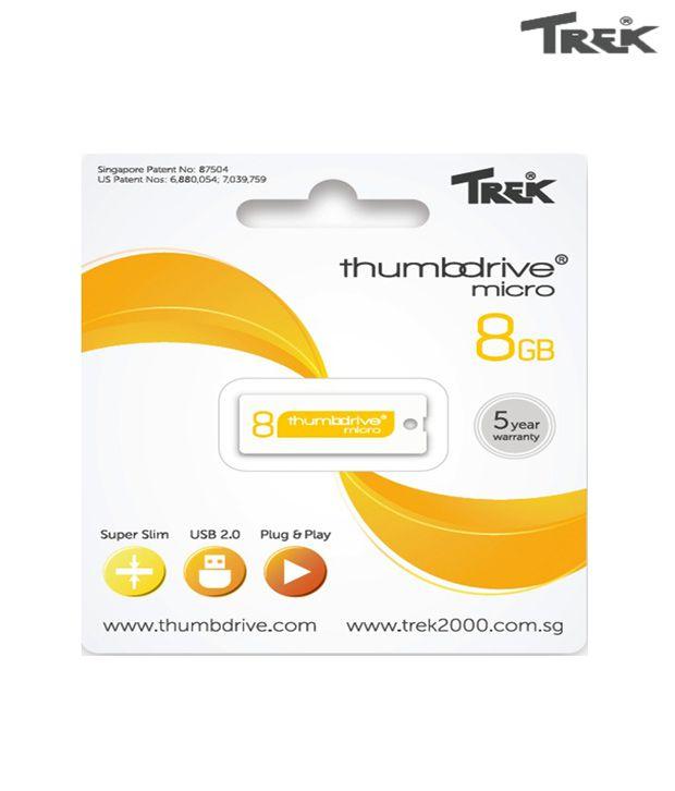 Trek Thumb Drive 8GB Pen Drive