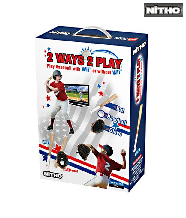 Nitho 7th Innings Stretch Pro Base Ball for Wii