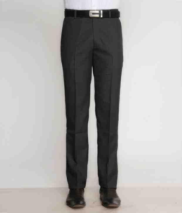 Bombay High Smart Grey Trouser