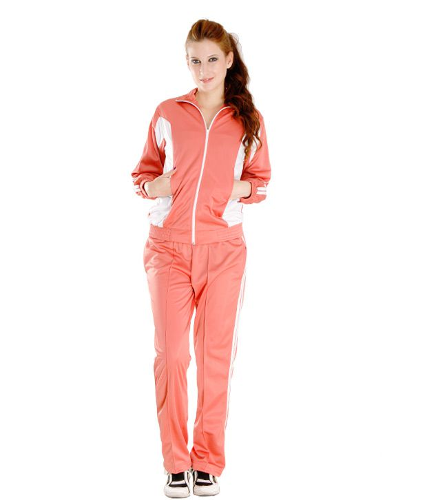 Finesse Trendy Pink Track Suit