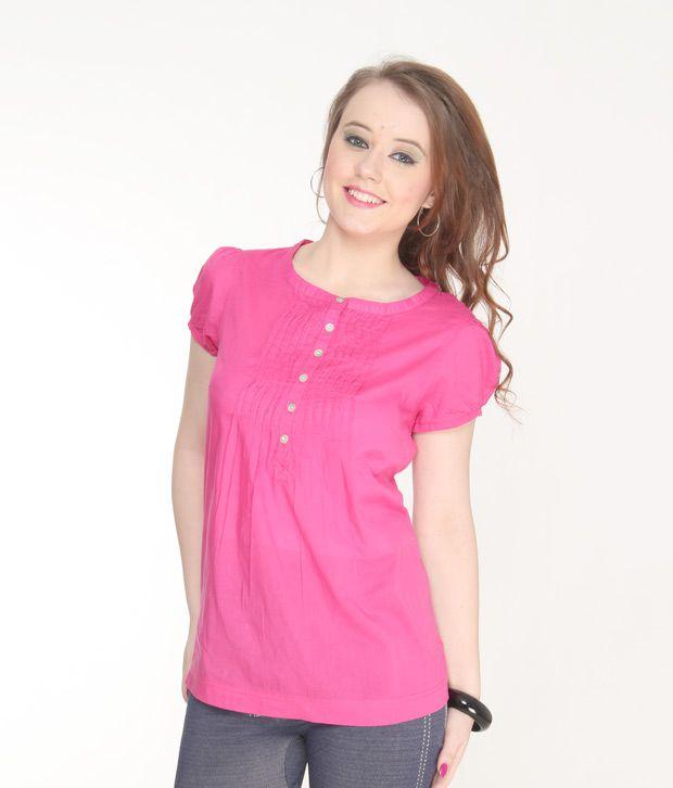 Jiwan Bubbly Pink Top