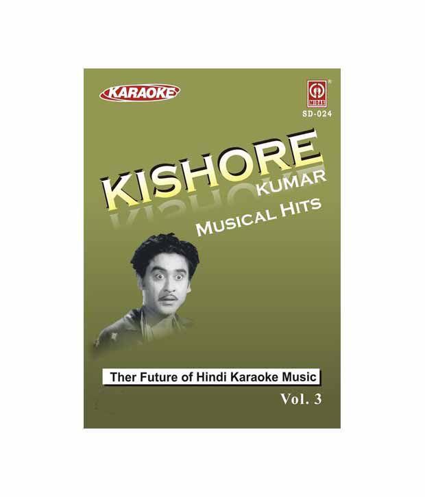 Kishore Kumar Musical Hits Vol-3 (Hindi) [DVD] (Karaoke): Buy Online