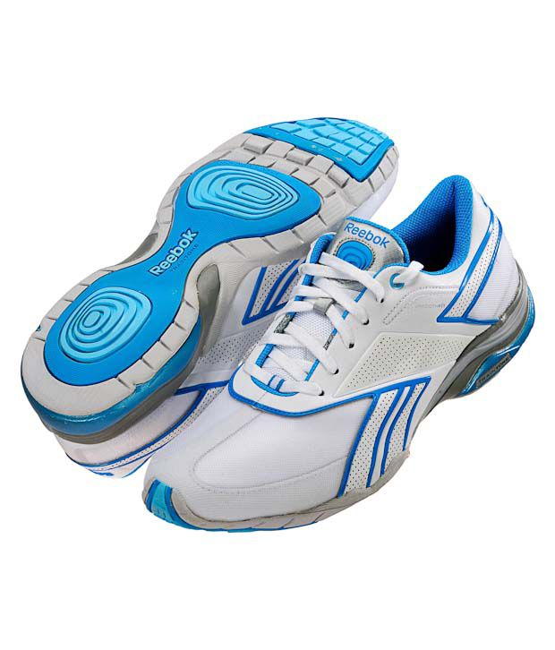 Stratford on Avon Llanura hogar  Reebok Traintone Anthlin White & Blue Workout Shoes Price in India- Buy Reebok  Traintone Anthlin White & Blue Workout Shoes Online at Snapdeal