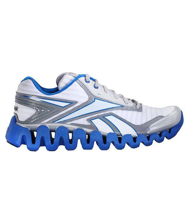 Buy Reebok Zig Activate White \u0026 Blue