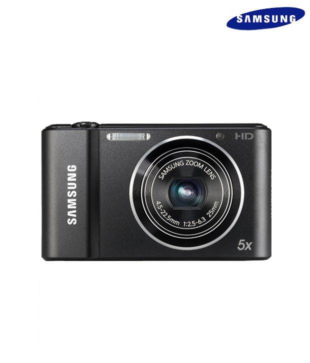 Samsung ST66 16.1MP Point & Shoot Digital Camera (Black)