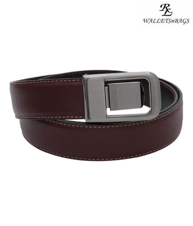 WalletsnBags Sophisticated Brown  Belt