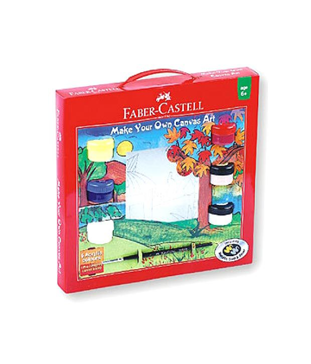 faber-castell canvas kit (pack of 2): buy online at best