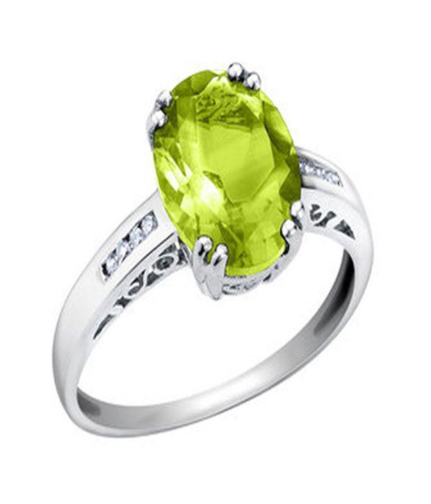 Green Diamond Ring India