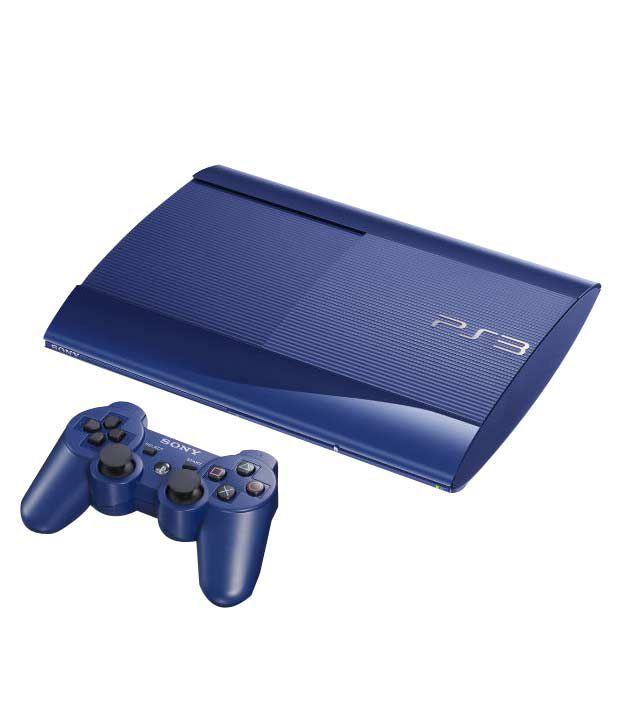 Sony Playstation 3 (500GB) (Blue)