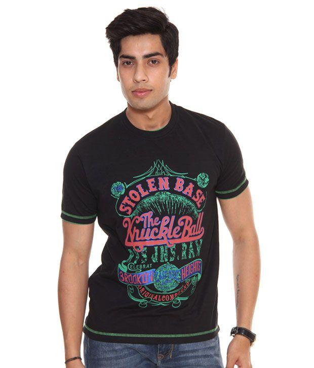 Raves Brooklyn Black T-Shirt