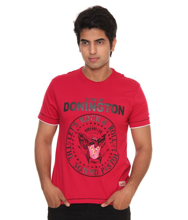 Raves Donnigton Red T-Shirt
