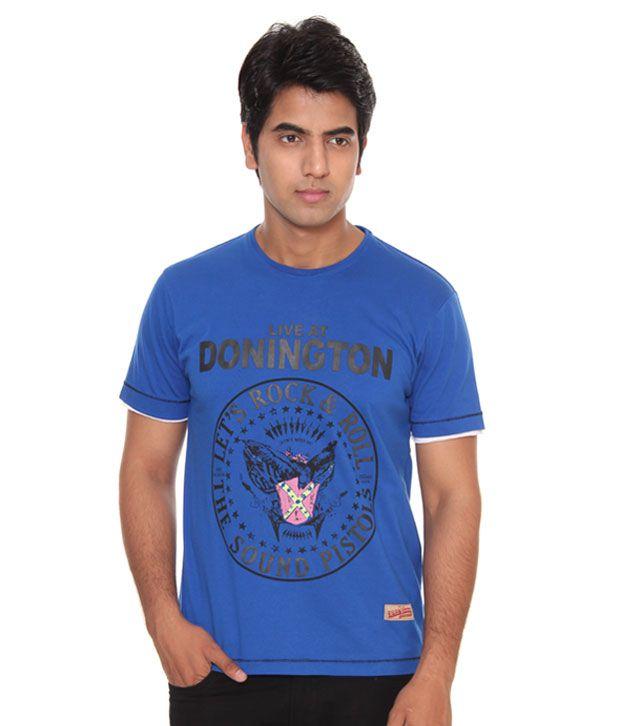 Raves Donnigton Blue T-Shirt