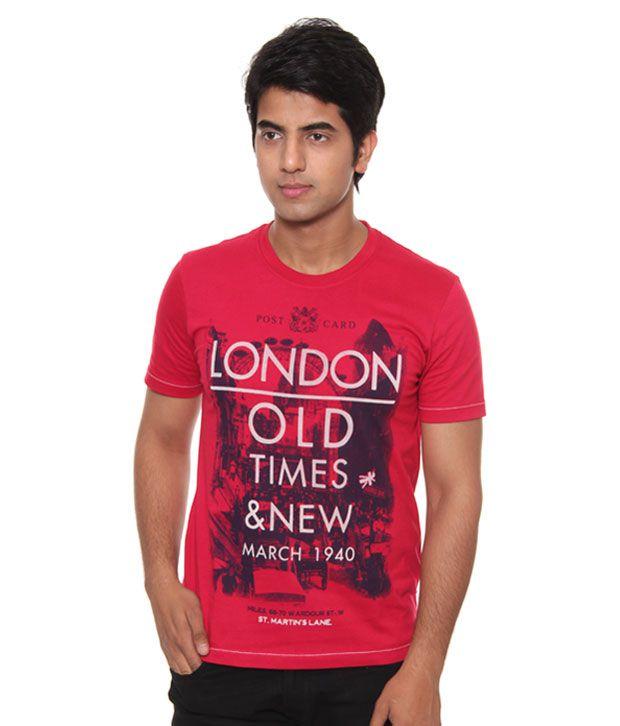 Raves London Red T-Shirt