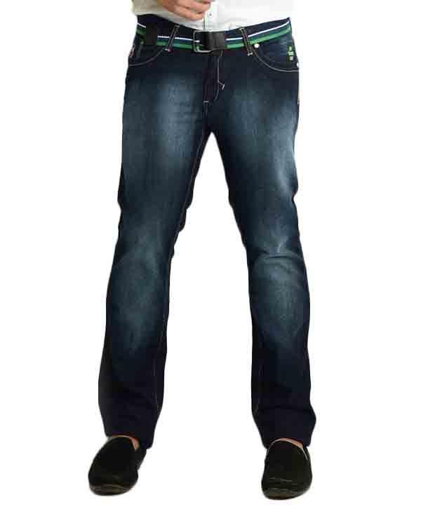 Teemper Navy Blue Jeans