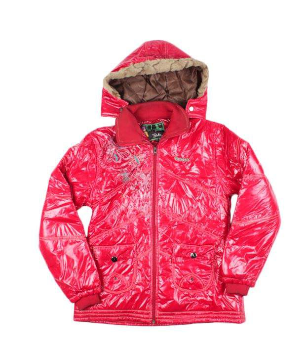 Fort Collins Red Jacket For Kids