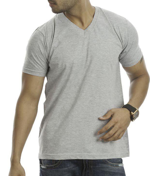 Street Junkies Grey Melange T-Shirt