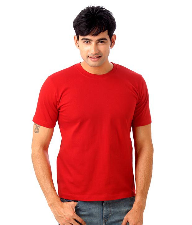 Street Junkies Trendy Red T-Shirt