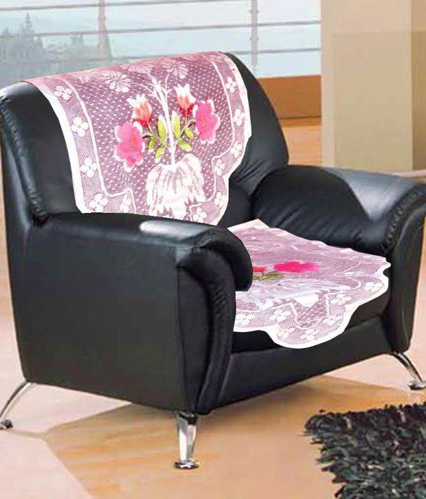 Floral Net Sofa Cover 10 Pcs Buy Floral Net Sofa Cover 10 Pcs