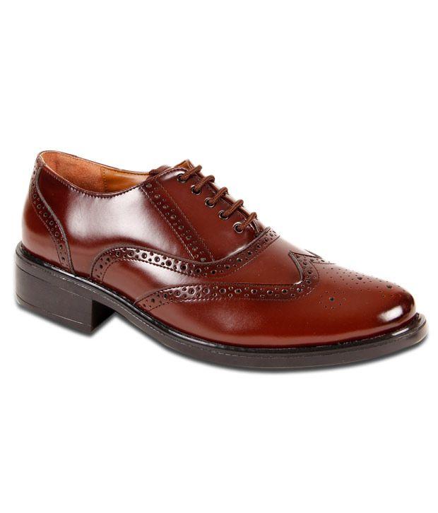San Frissco Brown Formal Shoes