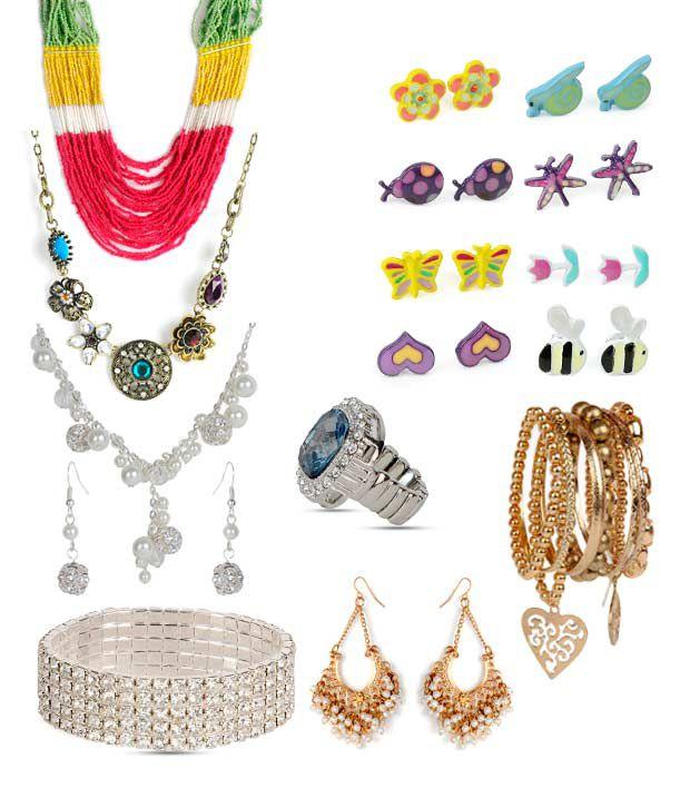 Pari Assorted Glamorous Jewellery Combo