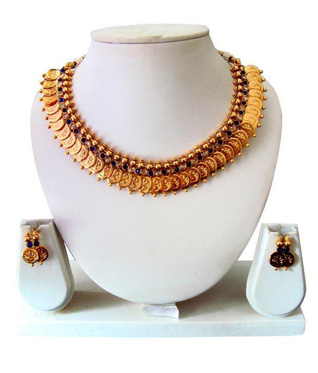 Adoreva Golden Necklace Set 58