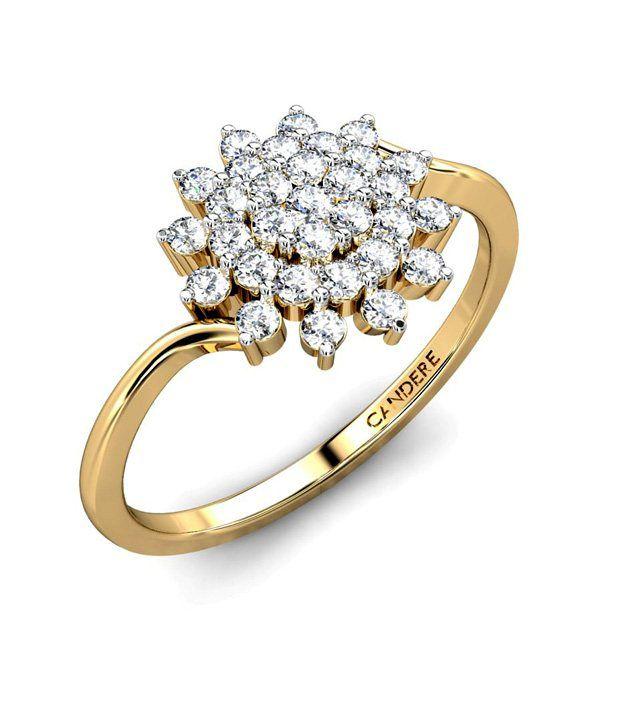 Candere Gold & Diamond The Cabri Ring