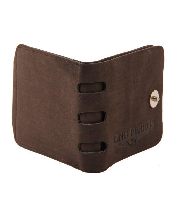Lino Perros Dark Brown Wallet