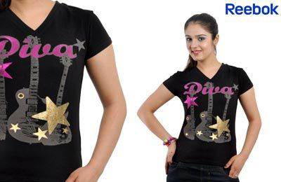 Reebok Women's Music Diva Tee