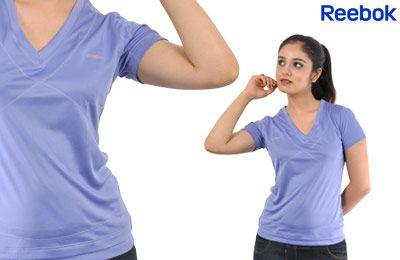 Reebok Women's Lilac Blue Tee