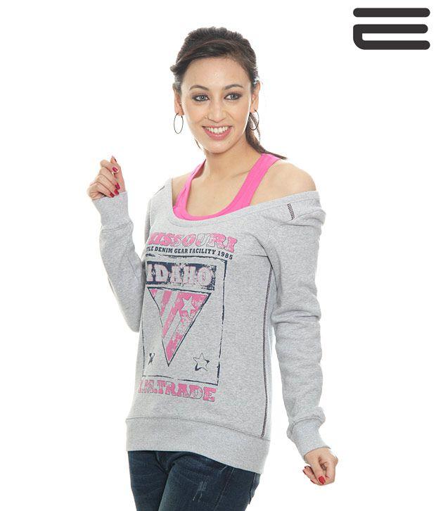 Mettle Grey Sweat Shirt-M-8004-Gmlg