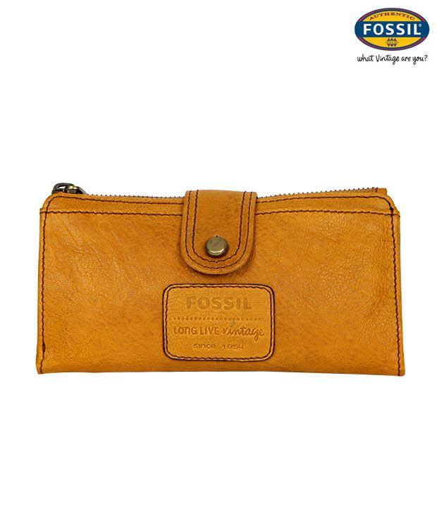 Fossil Vintage Leather Wallet