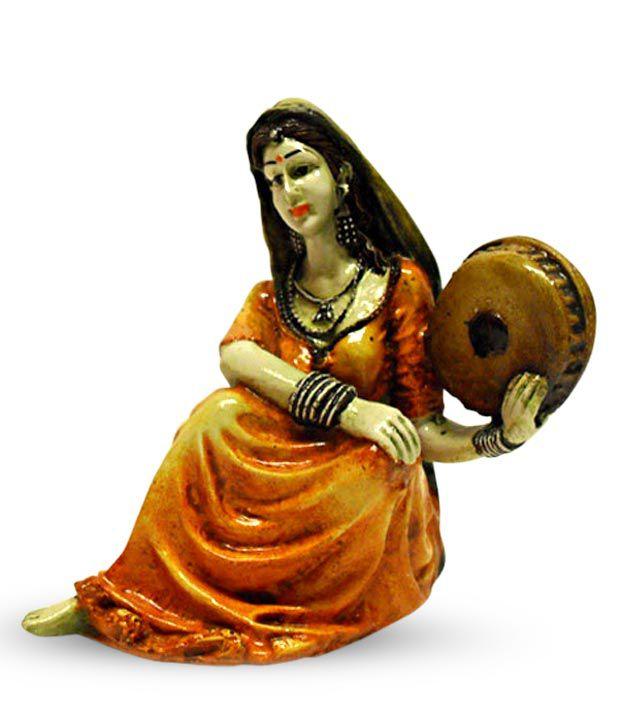 Earth Orange Resin Figurines 15 Buy Earth Orange Resin Figurines 15 At Best Price In India On